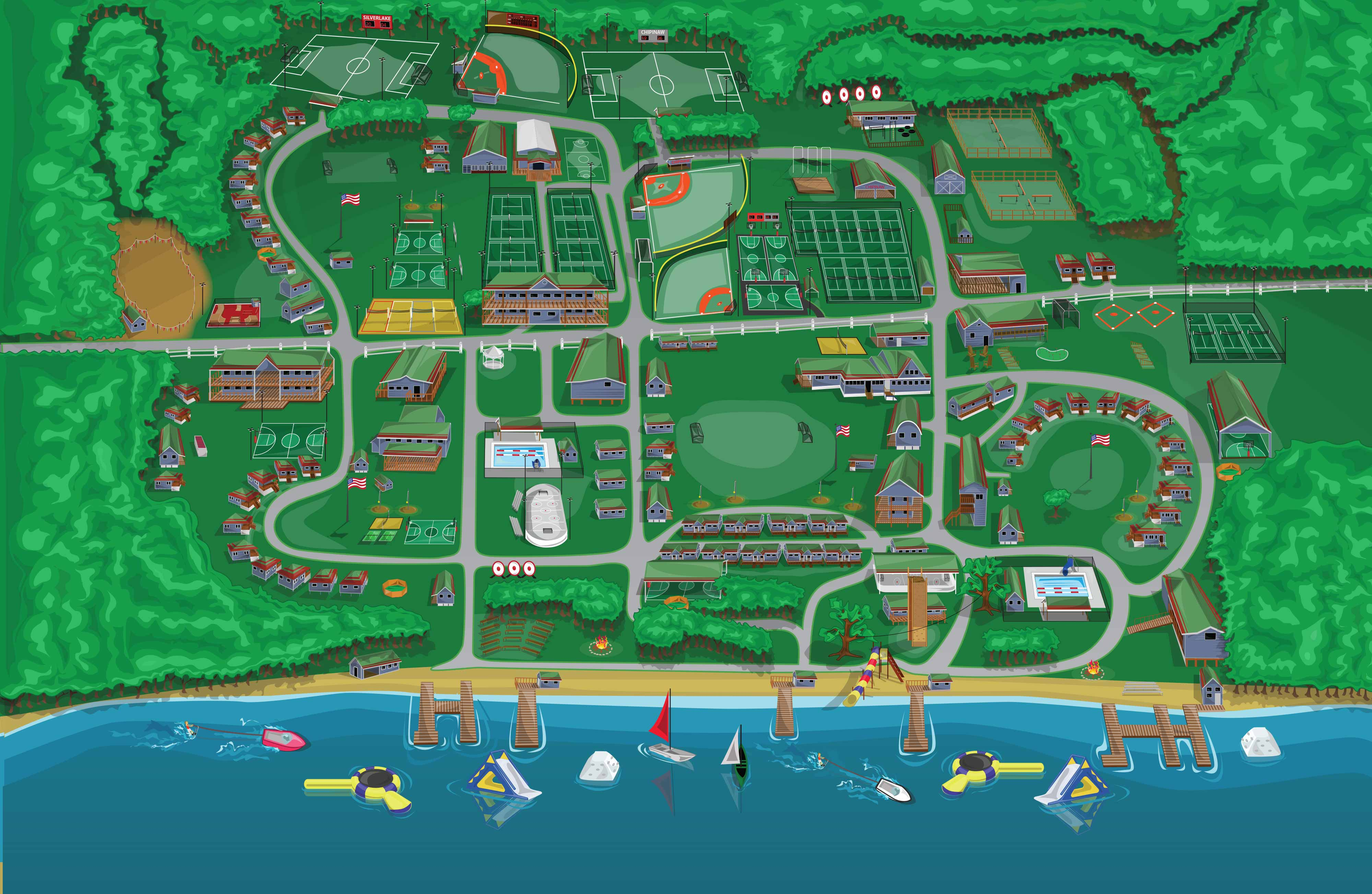Interactive map of chipinaw the spirit of summer at camp chipinaw gumiabroncs Gallery